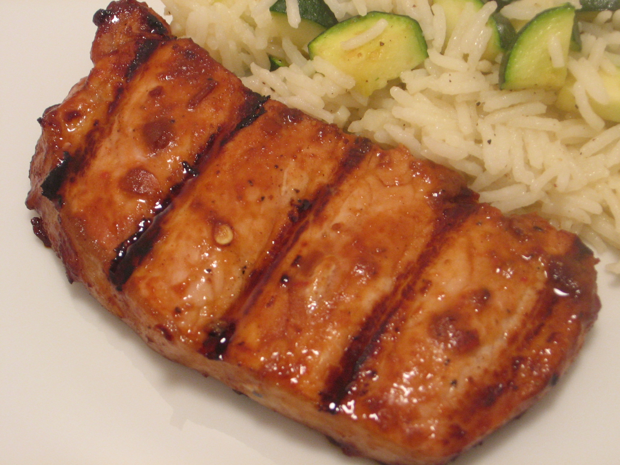 Asian Inspired Pork Chops