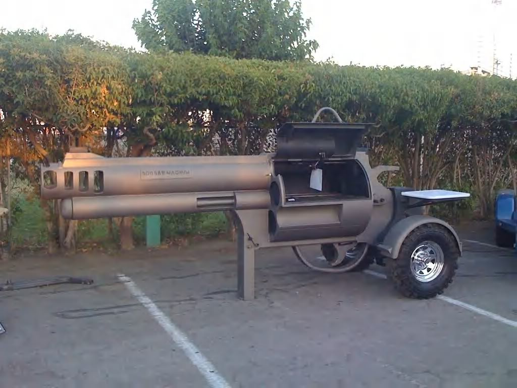 Handgun Barbeque Grill