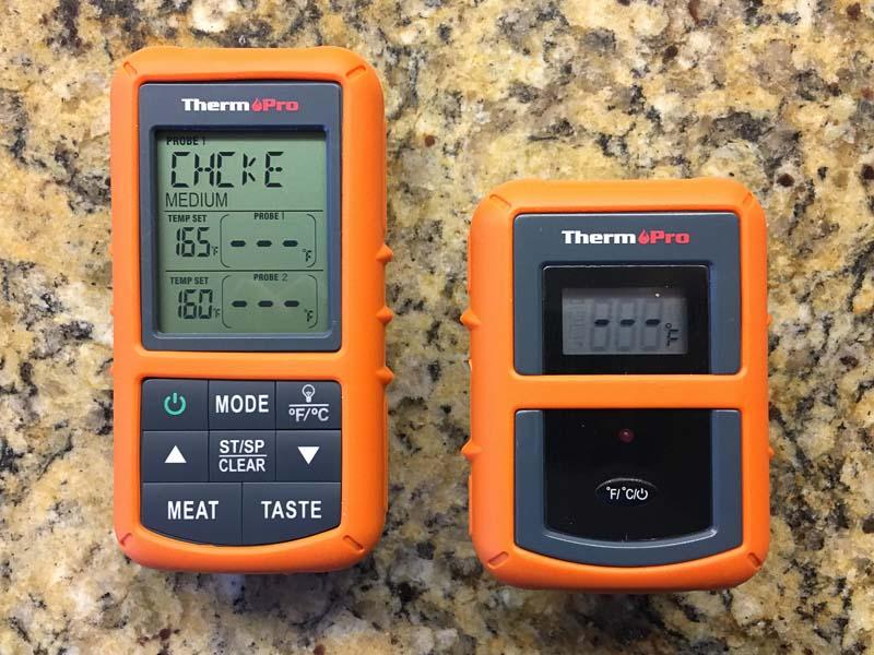 ThermPro Temperature select