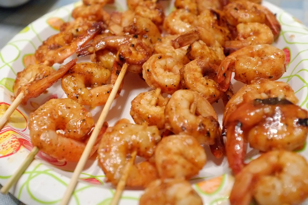 Grilled Savory Shrimp