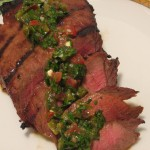London Broil with Spicy Chimichurri
