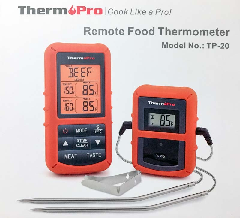 ThermPro TP-20 Remote Food Thermometer Review