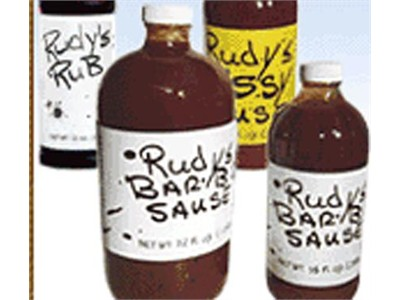 Barbecue Sauce Review: Rudy's Bar-B-Q Sause