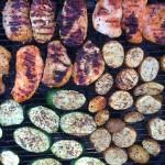 BBQ Zucchini, Potatoes, and Chicken
