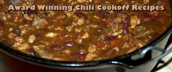 Award Winning Chili Cookoff Recipe