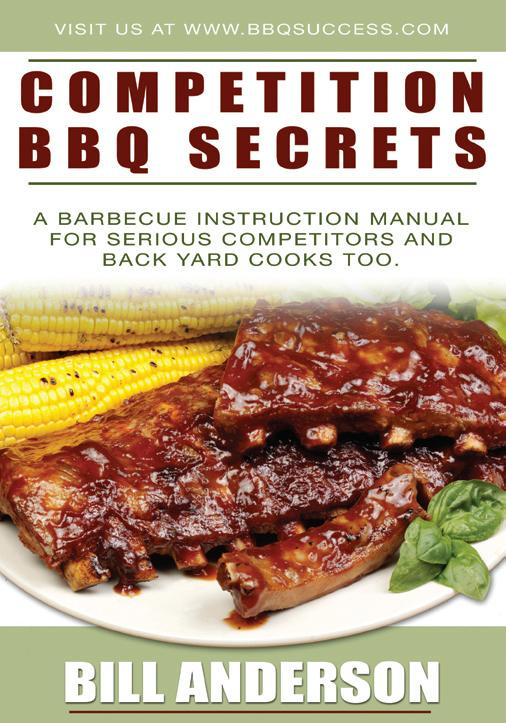 Competition BBQ Secret Recipes and Techniques